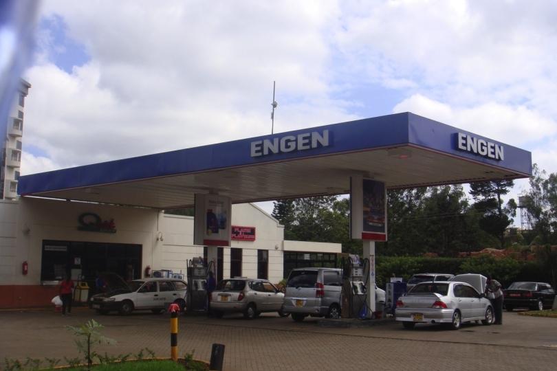 Engen Petrol Station