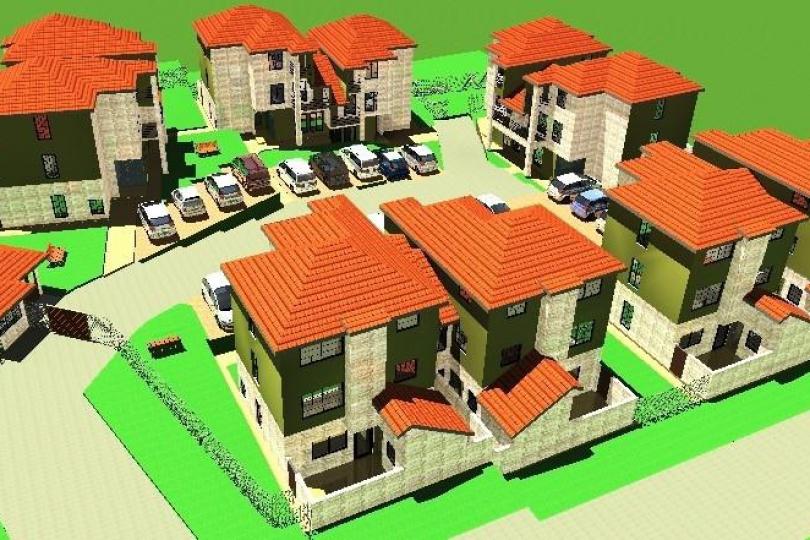 Ten villas Housing Units in Ngong