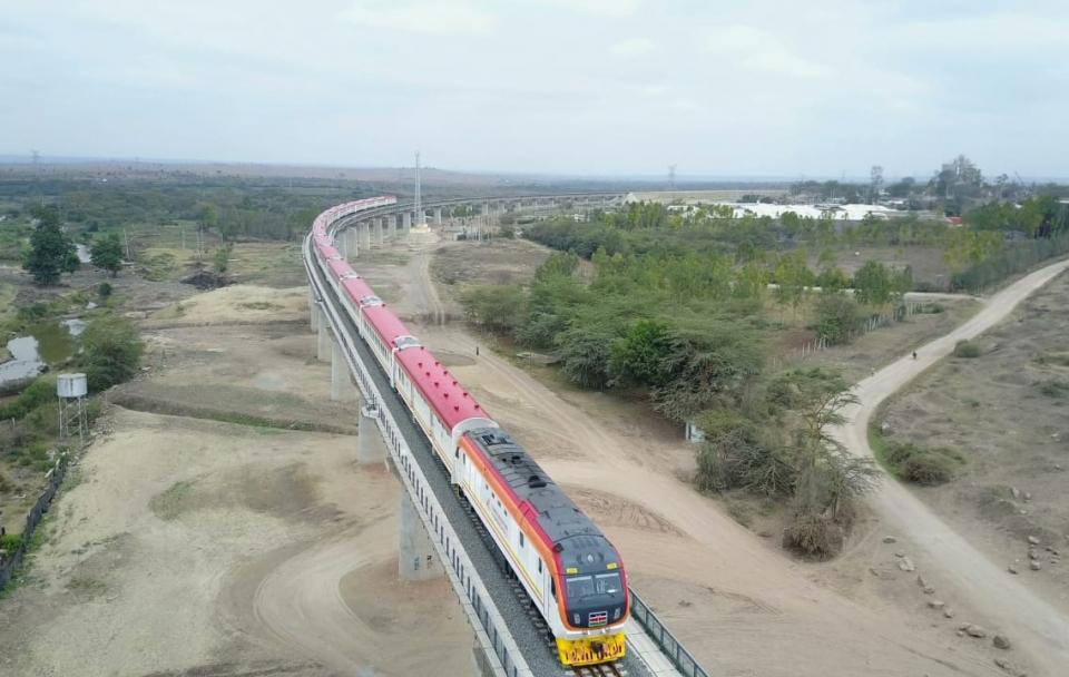 SGR Mombasa Nairobi Project